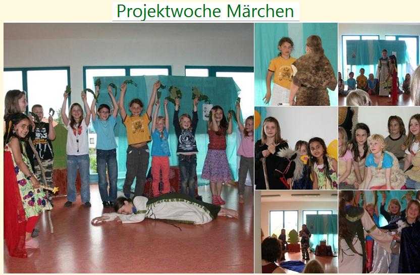 Projektwoche Märchen